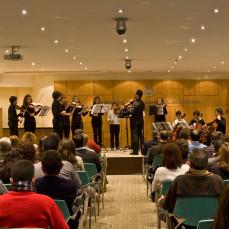 2010-12-18. Joven Orquesta Barroca de Sevilla. Colegio Aparejadores Sevilla