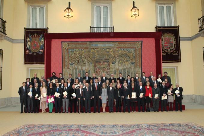 Entrega de los Premios Nacionales de Cultura 2011 y 2012