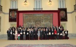 2013-02-19. Entrega de los Premios Nacionales de Cultura
