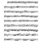OBS. Scores. 010. Francisco Delgado (1719-1792), Credidi. Salmo a 8 con violines y trompas. PARTS