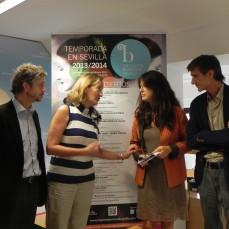 2013-10-02. Rueda de Prensa. Presentación de la Temporada en Sevilla 2013-2014. Fotos Carmen Pliego