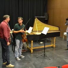 2013-10-31. Clase Magistral de violín: Enrico Gatti. Sevilla