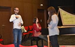 2013-11-06. FOTOS. Clases magistrales. Juan Sancho, canto. CICUS. Sevilla. Fotos de Sabela García Fonte