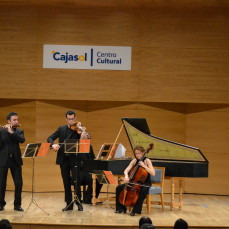 2014-02-26. El padrino. Obras de C.Ph.E. Bach y G.Ph. Telemann. TEMPORADA en Sevilla 2013/14. Fotos: Sabela García Fonte