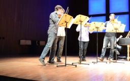2014-04-19. Conciertos de Brandeburgo. Andoni Mercero. San Lorenzo de El Escorial. Ensayos y Concierto. Fotos de Sabela García