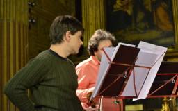 2014-01-28. I grandi tedeschi. Concierto de Santo Tomás. TEMPORADA en Sevilla 2013/14. Ensayo. Fotos de Sabela García