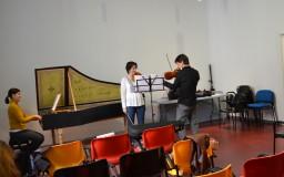 2014-01-29. FOTOS. Clase magistral de violín y cuarteto de cuerda. Andoni Mercero. CICUS. Fotos de Sabela García