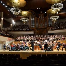 2013-12-10 y 11. Haendel, El Mesías. A. Spering, director. Auditorio Nacional. Madrid. Ensayos. Fotos de Sabela García