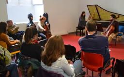 2014-02-24. FOTOS. Clase magistral de violonchelo. Mercedes Ruiz. CICUS. Fotos: Sabela García