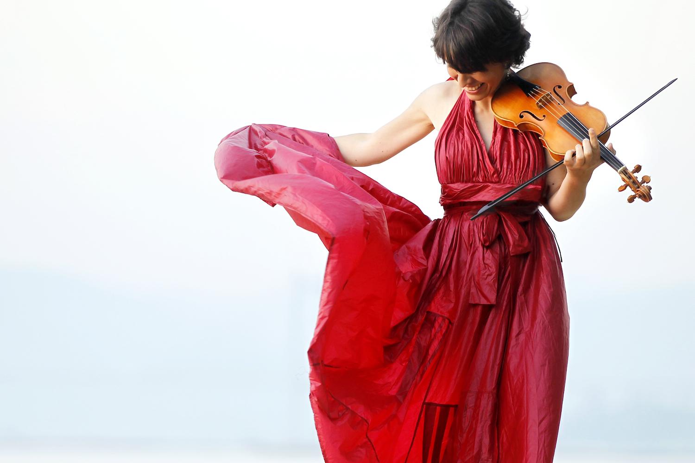 Amandine Beyer © Foto Óscar Vázquez