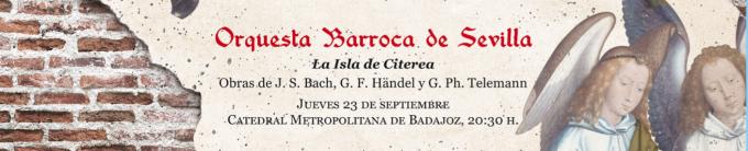 La OBS inaugura la temporada 21/22 como invitada en el Festival de Música Sacra y Antigua de Badajoz