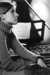 Céline Frisch, clave