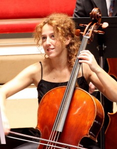 Mercedes Ruiz, cello