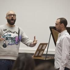 2013-01-29. Clase magistral de canto. Xavier Sabata